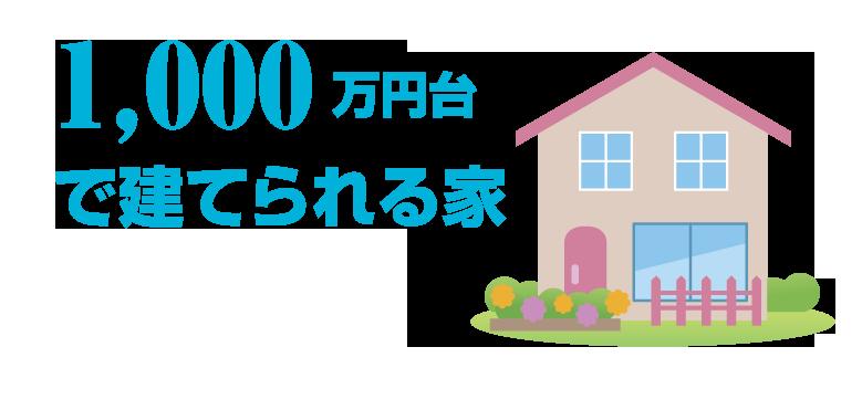 【1000万円台】シンプルisBESTなローコスト住宅。外観デザインや間取り、材料費を抑えてコストカット