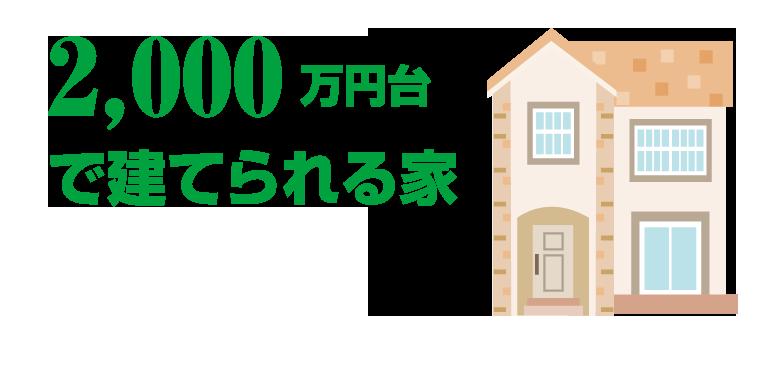 2000万円台】だいぶ夢のマイホームに近づける予算だけれど、時に我慢が必要なことも