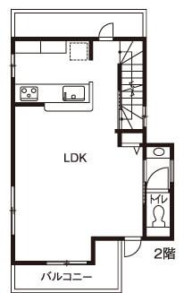 30坪の二世帯住宅間取り①両親の家を建て替えた共有タイプ3階建て【大和ハウス】