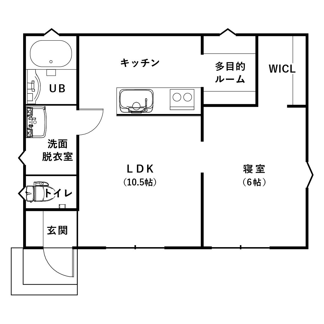 狭小住宅の間取り10坪のスモールハウス④独身のおひとり様におすすめしたい「俺の城」【FIT BOND】