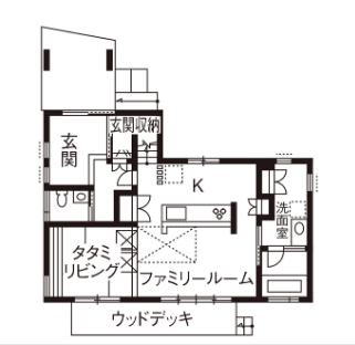 【3000万円の家】2階建て/タタミリビングと小部屋・屋根裏を活用した遊べる家