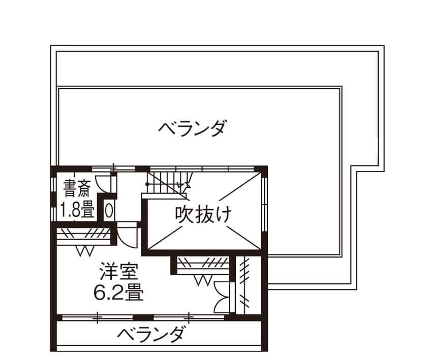 5人家族の間取り⑥共働き夫婦を両親がサポートしやすい「完全分離型」二世帯住宅・3階建て