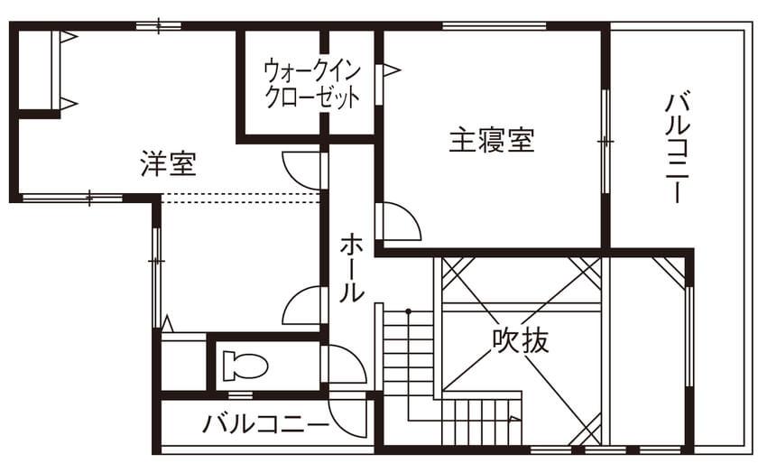 人気の30坪・2階建ての間取り②/完全フル装備で死角なし。生活動線の整った子育てハウス